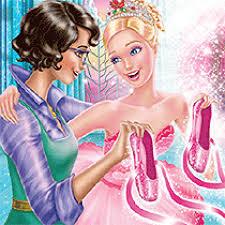 Coloriage Barbie R Ve De Danseuse Toile Sur Hugolescargot Com