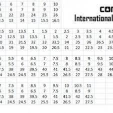 Converse Size Chart Converse Shoes Size Chart Peninsula Conflict Resolution Center