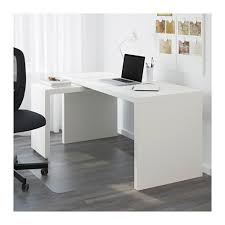 MALM Desk with pull-out panel IKEA The pull-out panel gives you an