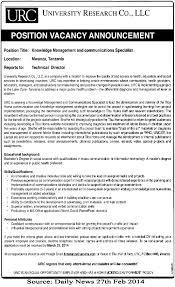 Communication Specialist Resume