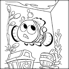 Finding Nemo Dory Coloring Pages To Paint Color Zini