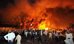a people s journey com 2008 islamabad s marriot hotel in flames after extremists attacked it by ramming an explosives