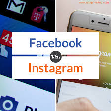 What is the Difference Between Facebook and Instagram?