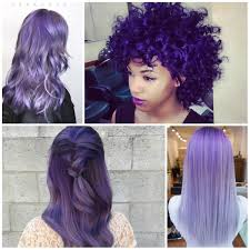 Purple Hair Style violet hair colors for 2017 haircuts and hairstyles for 2017 5178 by wearticles.com
