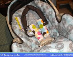 you have finished car seat strap covers hopefully you and your baby enjoy them