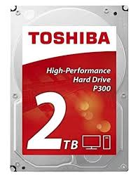 <b>Жесткий диск Toshiba</b> SATA-III 2Tb <b>HDWD120UZSVA</b> P300 ...