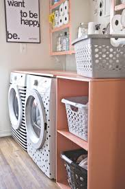 Washer Dryer Shelf Diy Laundry Room Shelf A Beautiful Mess