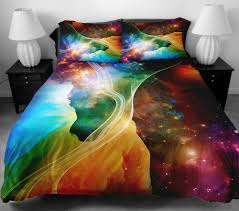 furniture purple anlye galaxy quilt cover galaxy bedding set duvet full size of