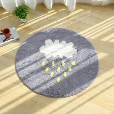 R Round Area Rugs Super Soft Living Room Bedroom Home Shag Carpet Antislip  Shaggy Kids