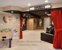 movie theater decor Traditional Basement Small Basement Remodeling Ideas  Design, Pictures, Remodel, Decor and Ideas - page 13 | Pinterest | Movie  theater ...