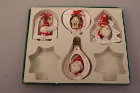Christbaumschmuck Strohsterne Engel Holzfiguren Weihnachtsmann Deko Weihnachten