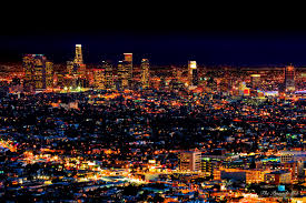 Los Angeles  Nightly Light Spectacle in the City of Angels and Global  Capital of Entertainment