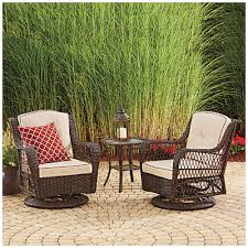Wilson u0026 Fisher Barcelona Resin Wicker Glider Chairs and Table Set at Big  Lots Just bought this for our deckpatio