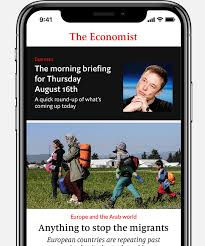 e daily picks from the editors of the economist every morning