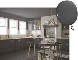 Kitchens with dark painted cabinets Brown Kitchencabinetpaintcolors19 Kitchen Cabinet Kings 20 Trending Kitchen Cabinet Paint Colors