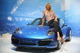 Maria Sharapova Photos Photos Maria Sharapova Loves Porsche In Germany