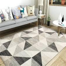 horizon area rug off white geometric rugs machine made style colours harrietta black