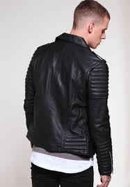 goosecraft perf veste en cuir black wv46460
