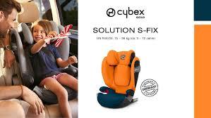 Обзор детского <b>автокресла</b> от <b>Cybex</b> - <b>Solution</b> S-Fix для детей ...