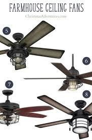 ceiling fan farmhouse. farmhouse ceiling fans with cage lighting fan