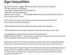 mark question essay plans biopsychology by reagamcint  sociology age inequalities