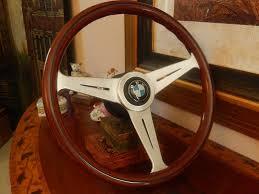 bmw wood steering wheel e9 2800 3 0 cs 15 nos original nardi bmw germany
