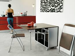 Folding Dining Table With Chair Storage Storage