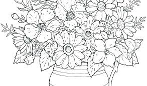 Printable Coloring Pages Of Flowers And Butterflies Free Coloring Book Pages Free Coloring Book Pages Coloring