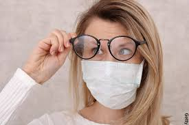 <b>Face Masks</b> and Foggy <b>Glasses</b>: A COVID Consequence