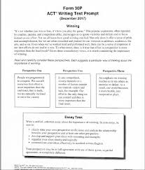 Act Example Essays Latest Act Essay Prompts Act