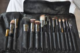 they are amazing brushes so naturally i had to the whole set yet a still have a few mac ones i prefer and i love so here is my kit