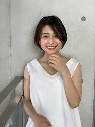 夏に向けて涼しげショートヘア 表参道青山恵比寿の美容院美容