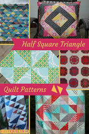 25 Half Square Triangle Quilt Patterns | FaveQuilts.com &  Adamdwight.com