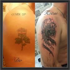 татуировки в различных стилях от 20 руб