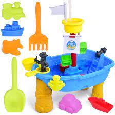 Amazon.com: FUN LITTLE TOYS Water Table Beach Toys Water Table for Toddlers  Age 3-5 Sand Table Sand Toys Outdoor Toys for Toddlers: Toys & Games