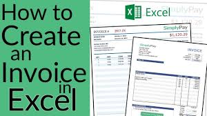 Excel Invoice Format How To Create An Invoice In Excel Free Invoice Template Download