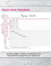 A5 Fitness Planner Fitness Journal Health And Fitness