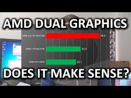 Amd Dual Graphics Does Crossfire With Your Onboard Video Make Sense
