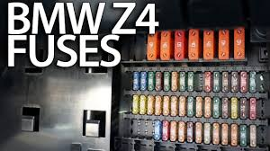 where are fuses in bmw z4 (e85 e86) electrical fusebox location fuse box manual for a ford f350 where are fuses in bmw z4 (e85 e86) electrical fusebox location youtube