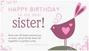 Free Dear Sister Ecard Email Free Personalized Birthday