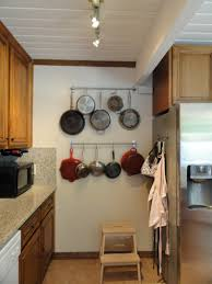 Pot Racks For Small Kitchens Kitchen Accessories Wooden Wall Cabinets Kitchen Renovation