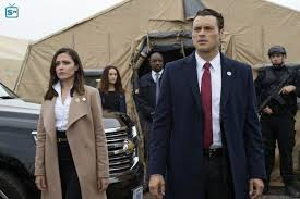 Aaron Shore and Emily Rhodes from Designated Survivor. There's no hint yet,  but if they play this right... I may fi…   Designated survivor, Survivor  tv, Career girl