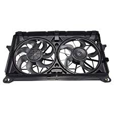 Amazon.com: Dual Radiator Cooling Fan Assembly for Chevy GMC ...