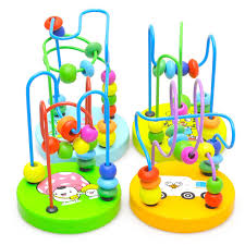 children kids baby colorful wooden mini around beads educational toy 32477914361 800x800 jpg