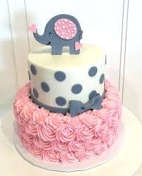 Pink Baby Shower Cake Zafraphotocom