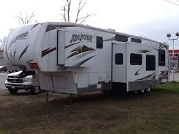 2009 keystone raptor 3602rl fifth wheel toy hauler