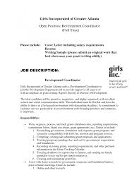 Cover Letter Resume Cover Letter With Salary Requirements Resume