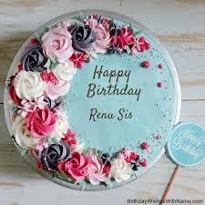 birthday wishes for renu sis