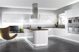 White Kitchen White Floor Dark Grey Kitchen Floor Tiles Outofhome