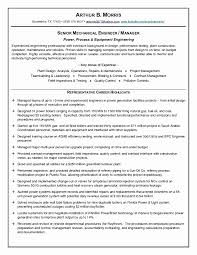 General Contractor Resume Beautiful 51 Beautiful Electrical Project ...